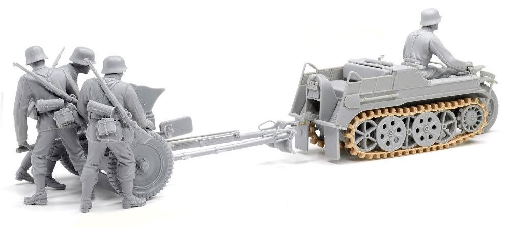 Built up photos of Dragons new Kettenkraftrad w/Pak 6446_2