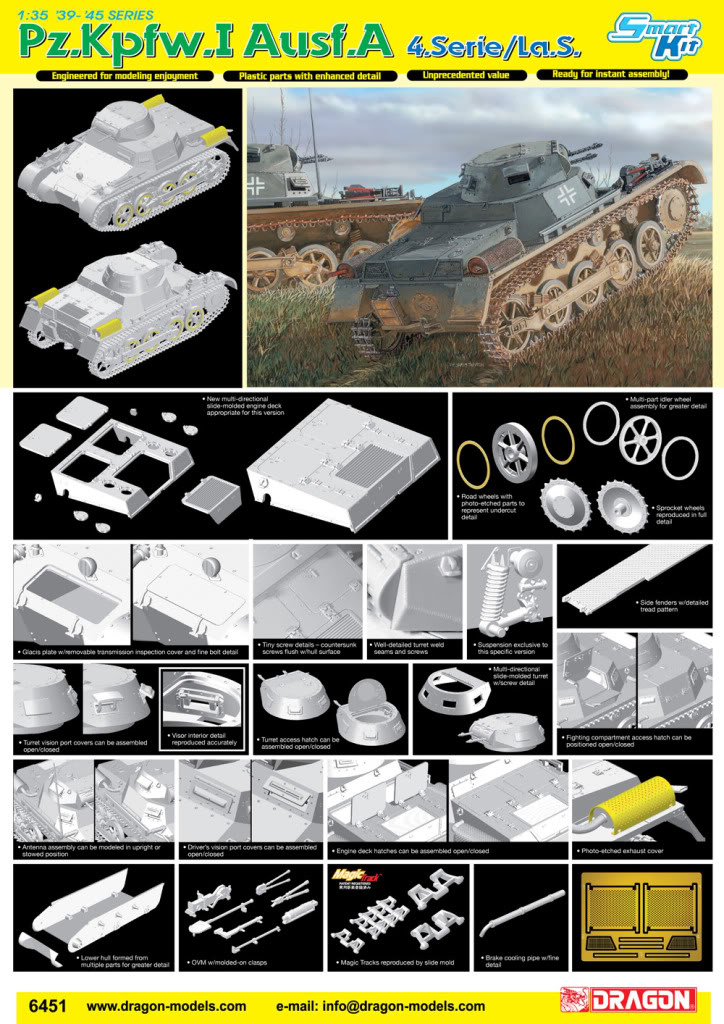 1/35 and 1/72 announcements from Dragon. 6451poster