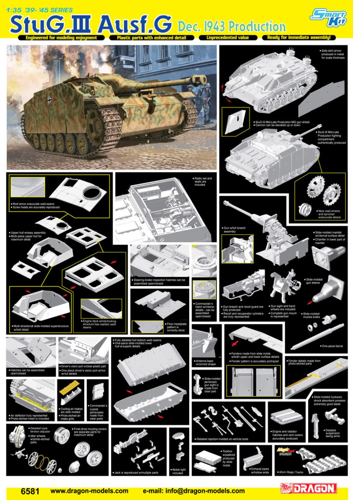 Dragon gives us a Stug IV and a mini radio thingy 6581poster