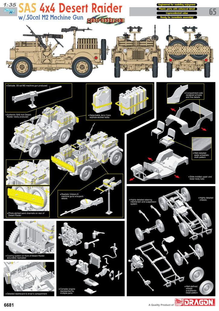 Cyber hobbies newest announcement ! 6681poster