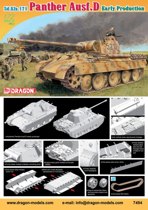 1/35 and 1/72 announcements from Dragon. 7494poster