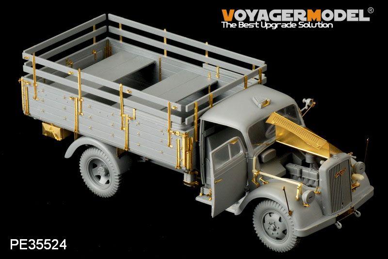 November releases from Voyager CopyofDragonOpelBlitz3t4x2CargoTruckShallowCargoBay2