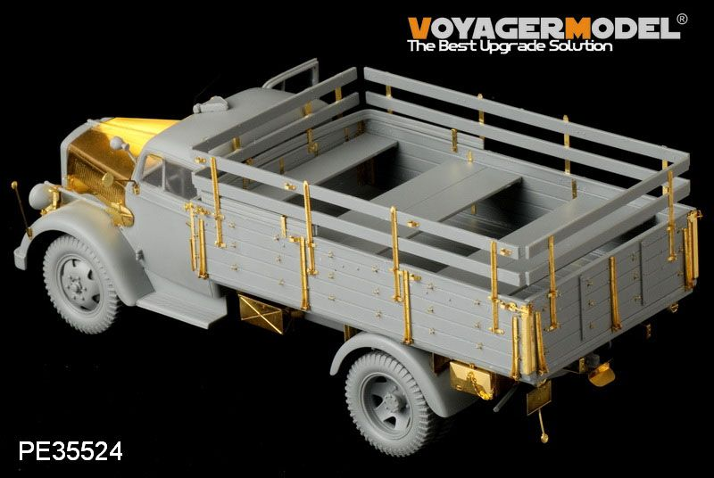 November releases from Voyager CopyofDragonOpelBlitz3t4x2CargoTruckShallowCargoBay3