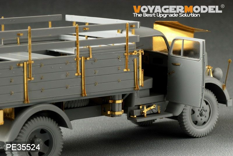 November releases from Voyager DragonOpelBlitz3t4x2CargoTruckShallowCargoBay5