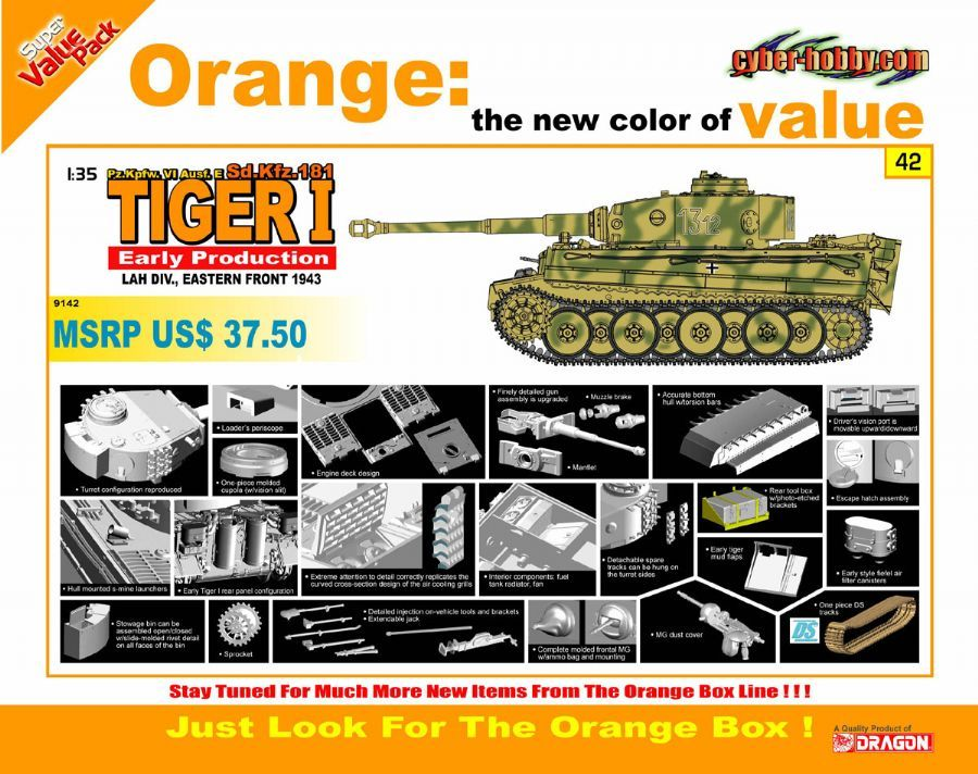 Is it really Dragon? is it . . . . . .  something else? The new  Orange Box Tiger I DragonTigerIearlyprod