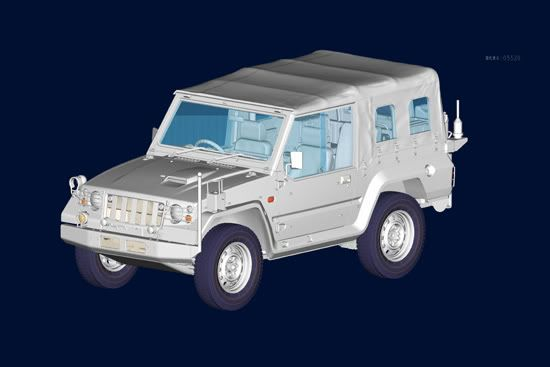 Some future stuff from Trumpeter Japanesetype73Jeep-newmodel