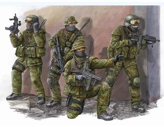 Some new stuff from Trumpeter ModGermanKSKCommandos