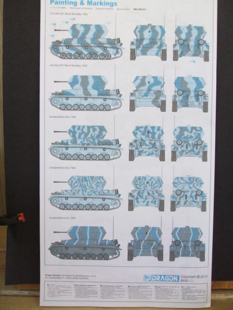 Dragon Flakpanzer IV Ostwind in box review. Ostwind3001