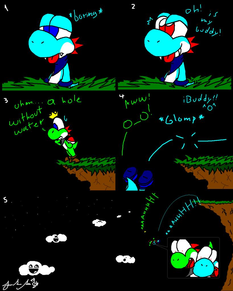 Mr.Yoshi comics =3 - Página 6 FailGlomp