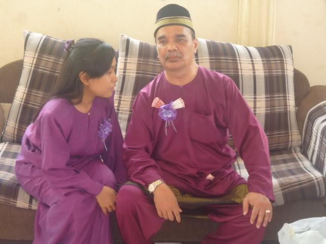 Bapa & adik pengantin
