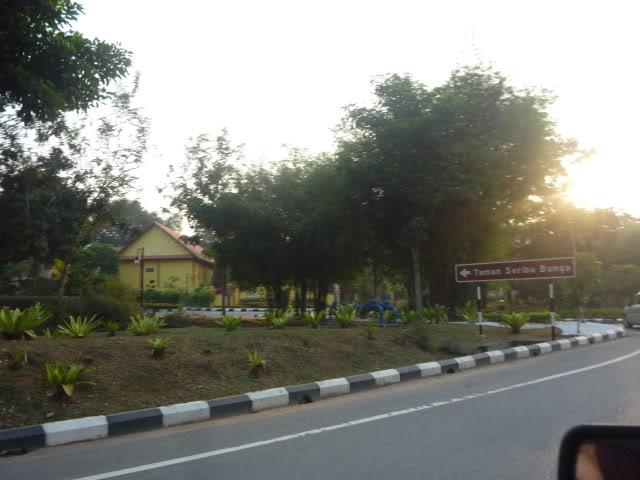 Taman seribu bunga Melaka