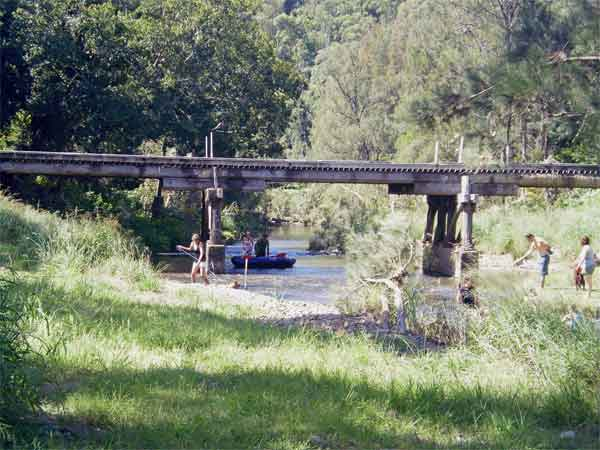 Sharp park camping in the gold coast hinterland. 2a-