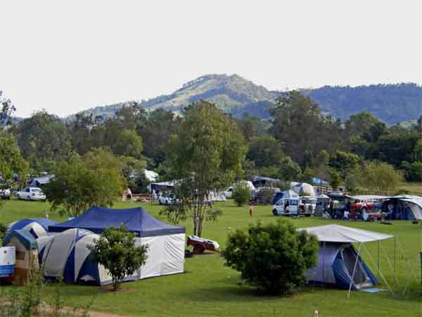 Sharp park camping in the gold coast hinterland. 5a-