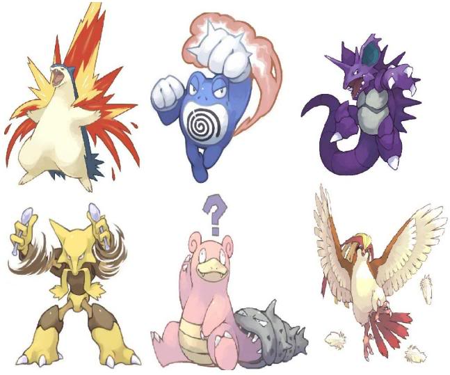 What are your usual pokemon lineups? Pokemonlineup-1