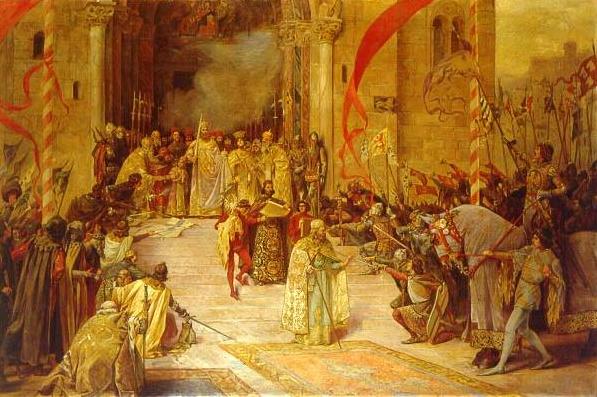 Paja Jovanovic - biografija i slike Krunisanjecaradusana