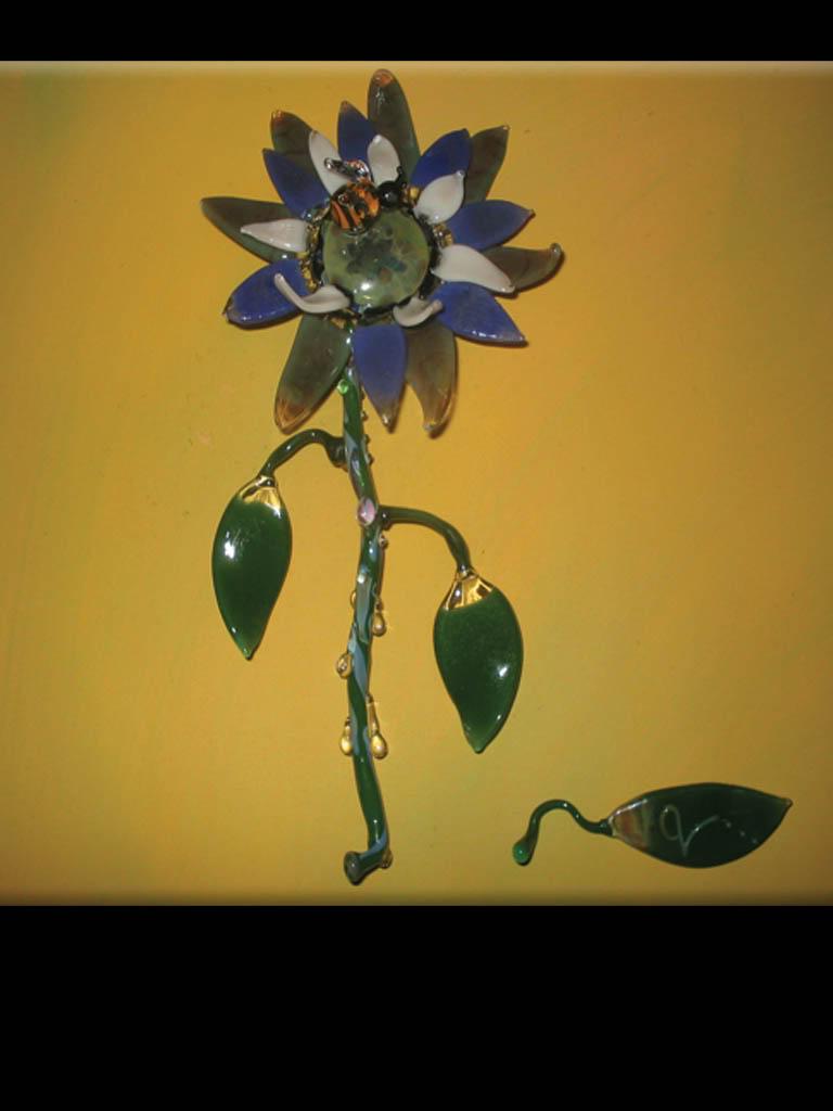 Umetnost stakla - Page 3 Glassflower