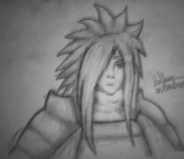 Meus desenhos =] Uchihamadara