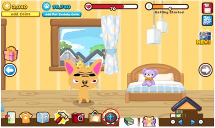 Guia -Nueva Funcion en Pet Society - Quests / Misiones Quest1