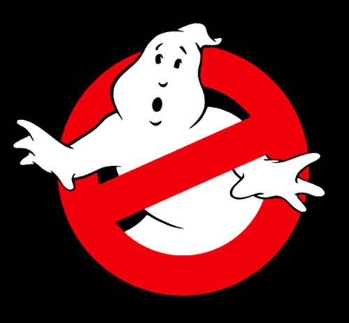 Afraid of Ghosts Ghostbusters-logo
