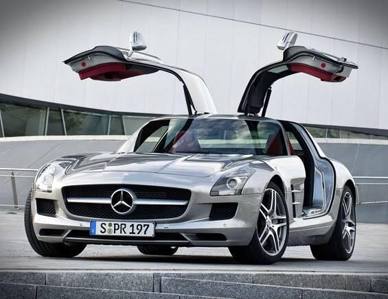 Qual a melhor? SLR X SLS Mercedes-sls-amg-5