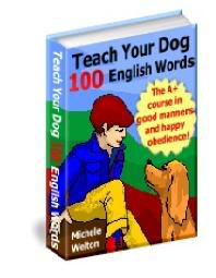 Teach Your Dog 100 English Words 100