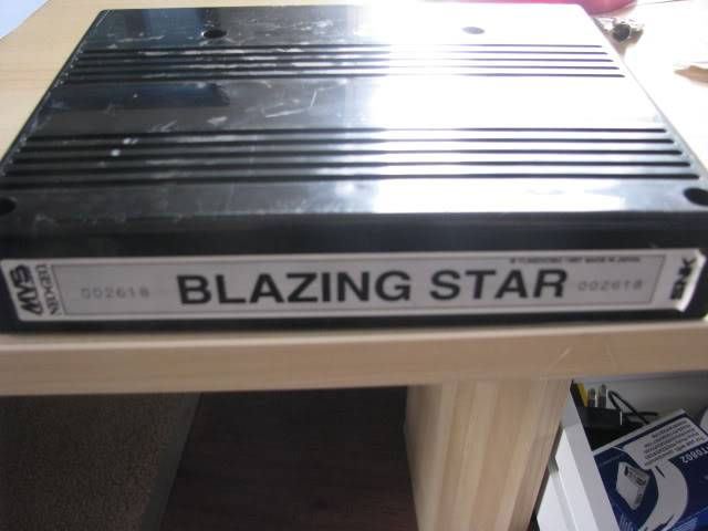 [SOLD] Blazing Star cart Avant006