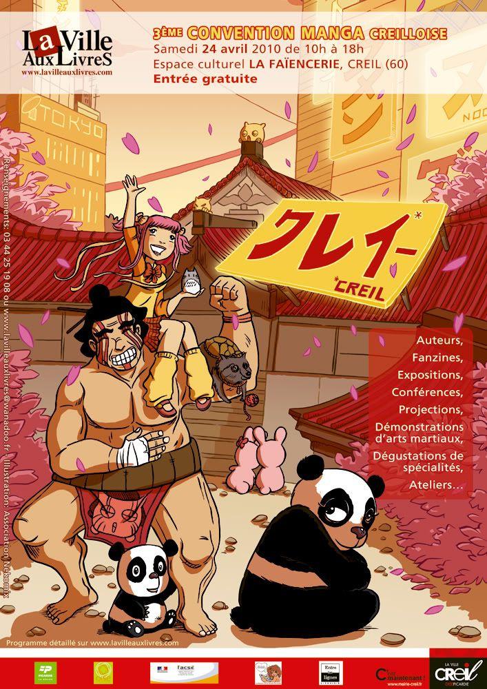 [2009] Mon Côté Manga 2010 - préparation/compte-rendu général 24avrilConventionMangaCREIL