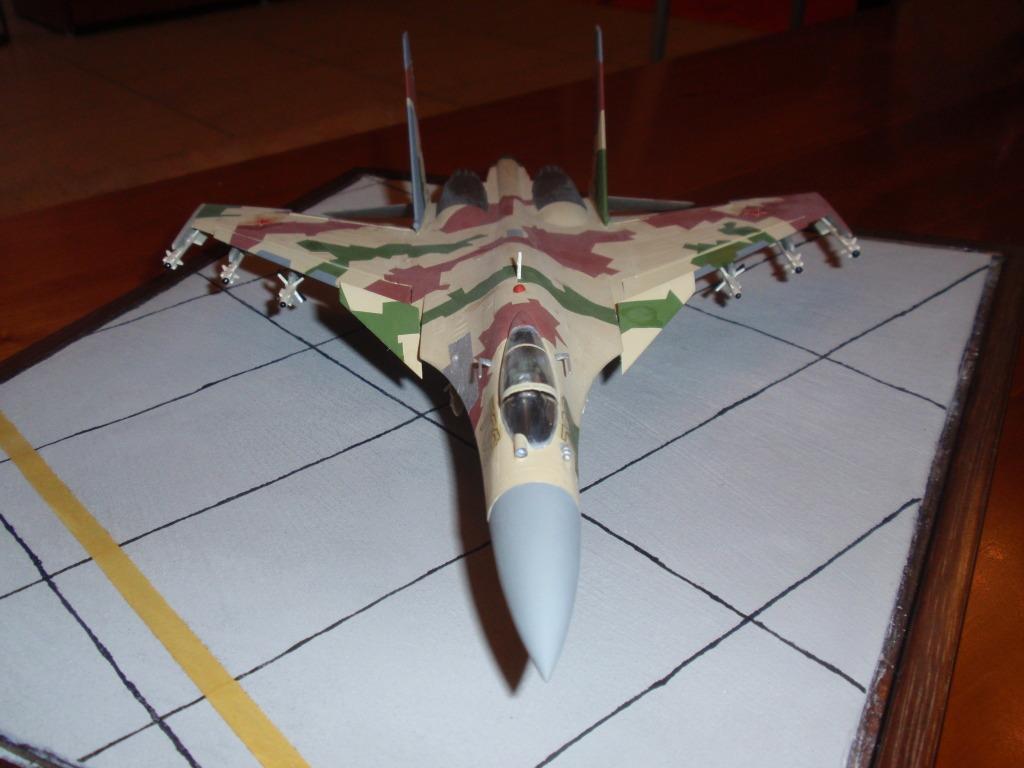 Su-35, prototype 709, 1/72 P4292200