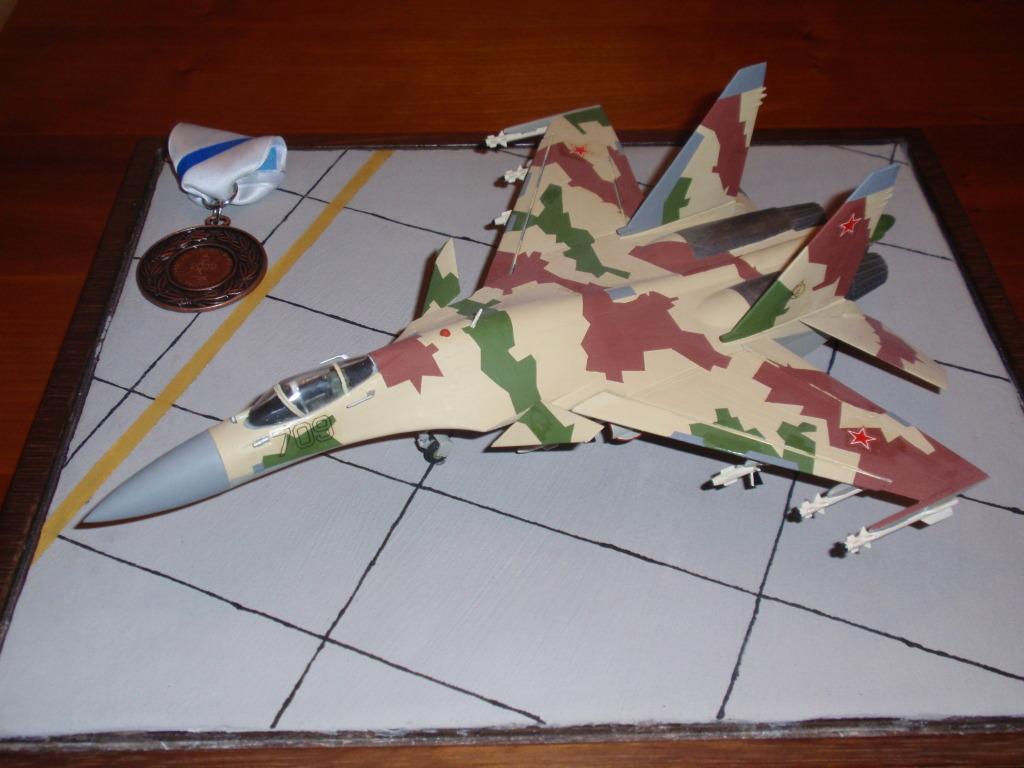 Su-35, prototype 709, 1/72 P4292206