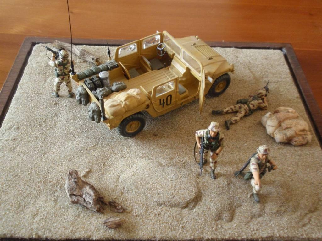 US MARINES RECON - Καταιγίδα της Ερήμου 1991 P5012208