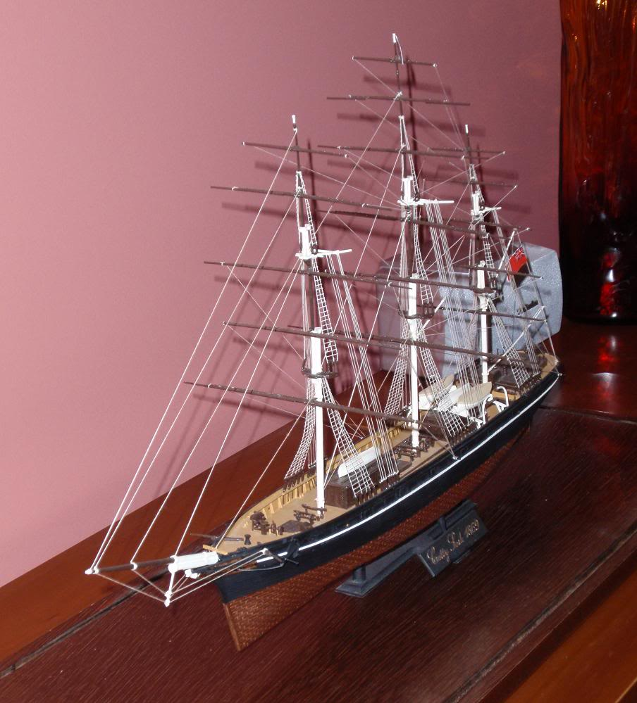 Cutty Sark, Airfix 1/130 special edition PB040925