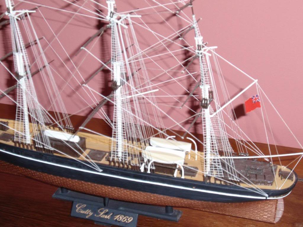 Cutty Sark, Airfix 1/130 special edition PB040927