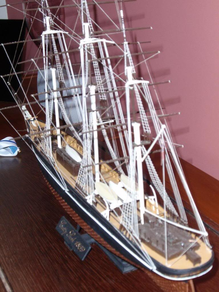 Cutty Sark, Airfix 1/130 special edition PB040928