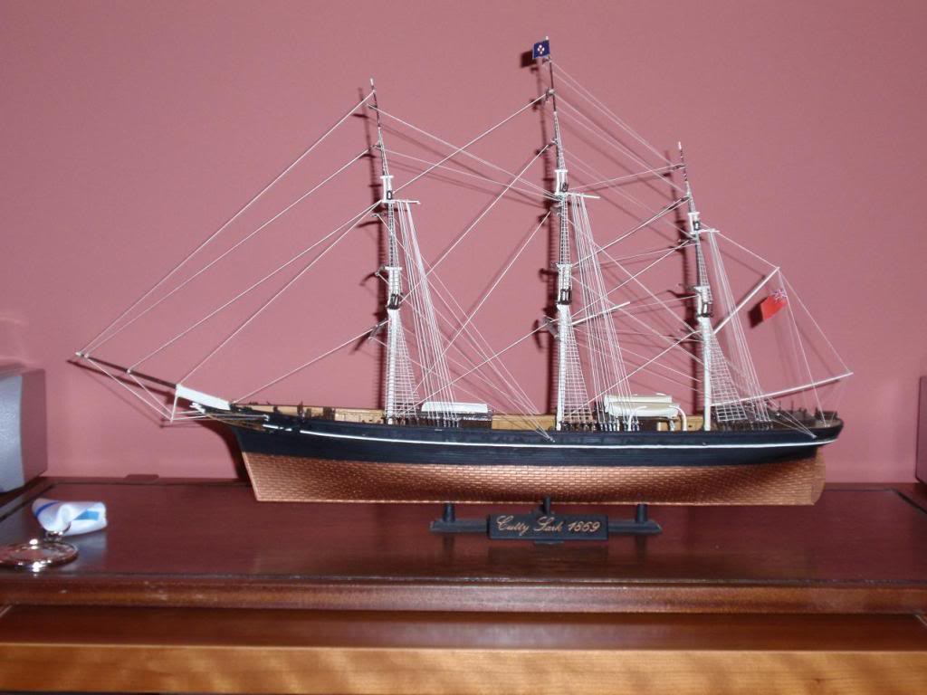 Cutty Sark, Airfix 1/130 special edition PB040929