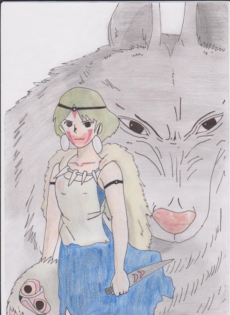 Los dibujos de Ai Princessmononoke001