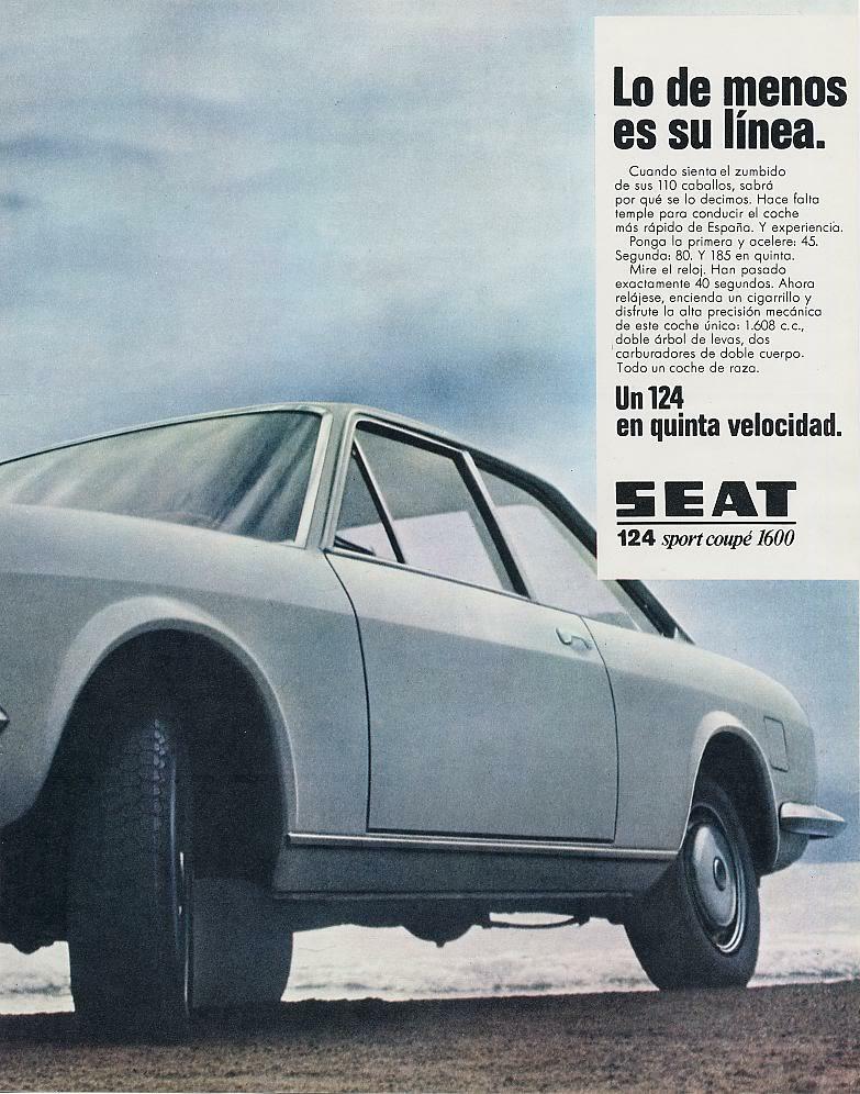 Publicidad de la epoca Seat 124 y Seat 1430 25-3