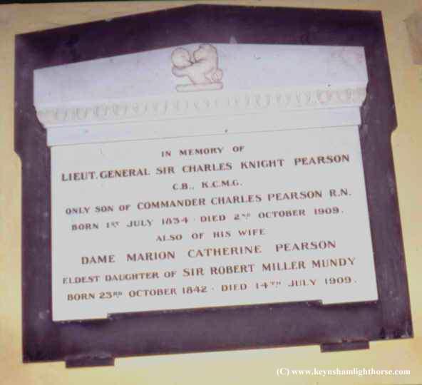 Lieutenant-General Sir Charles Knight Pearson KCMG Ckpearson