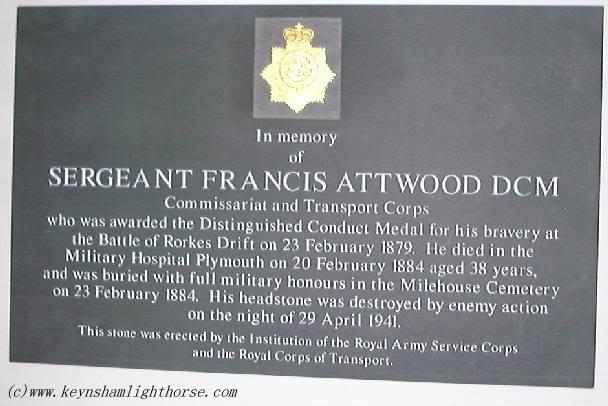 Sergeant Francis Attwood DCM Fattwood_plq