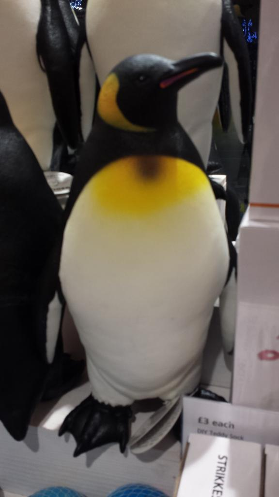 Large, cute Penguins just discovered in London Tiger Tiger store 20141119_183617_zps7da29da9
