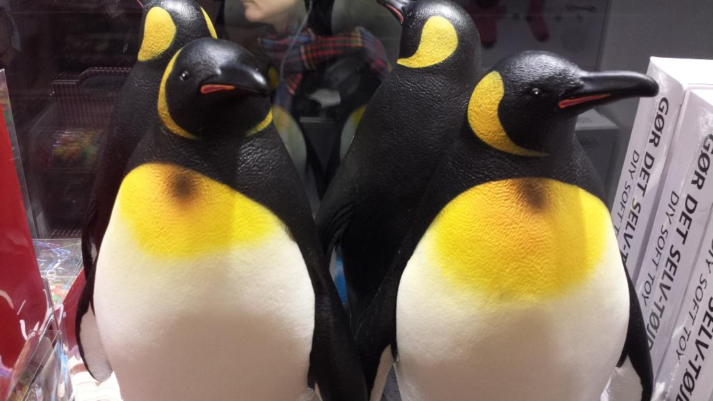 Large, cute Penguins just discovered in London Tiger Tiger store 20141119_183628_zpsa96cd7f6