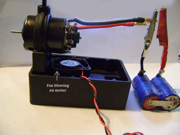 How to break in your brushed motor Setup