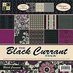 DCWV: black currant et street lace DCWVBlack