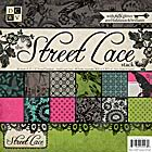 DCWV: black currant et street lace DCWVStreetlace