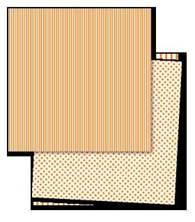 Nouveau Lush turquoise, fushia, orange et marine (RECUS) Los