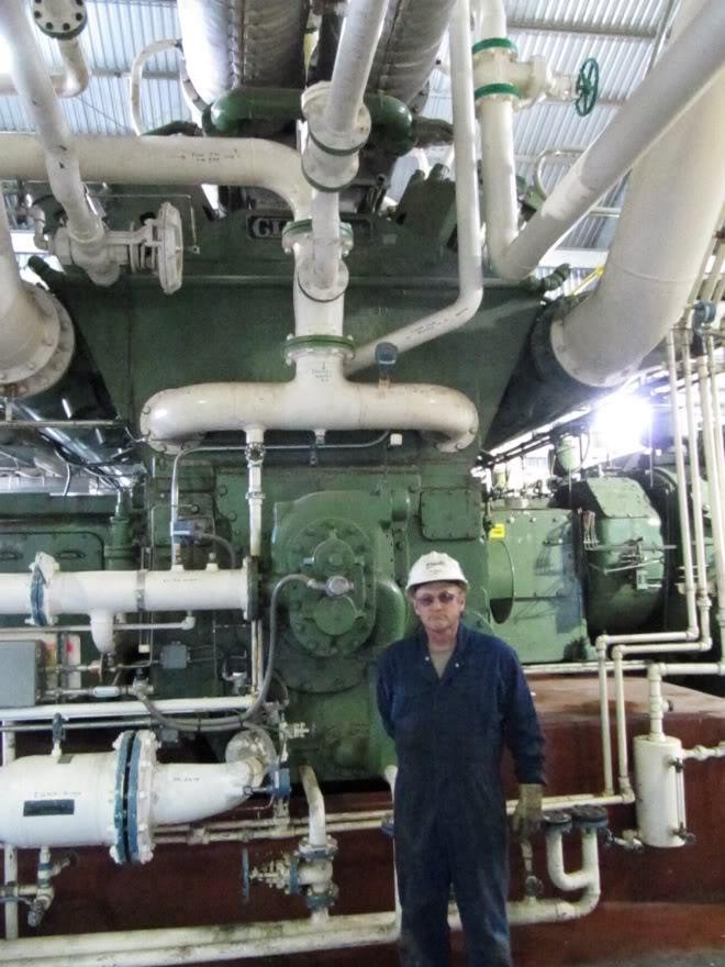 Clark 4500HP 12 Cyliner Engine IMG_0418
