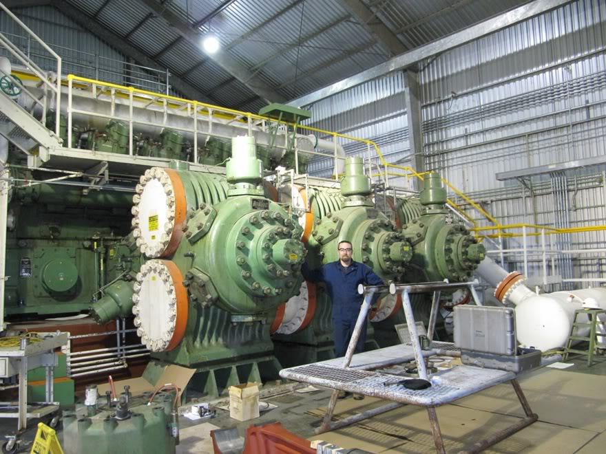 Clark 4500HP 12 Cyliner Engine IMG_0440