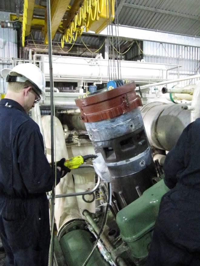Clark 4500HP 12 Cyliner Engine IMG_0453