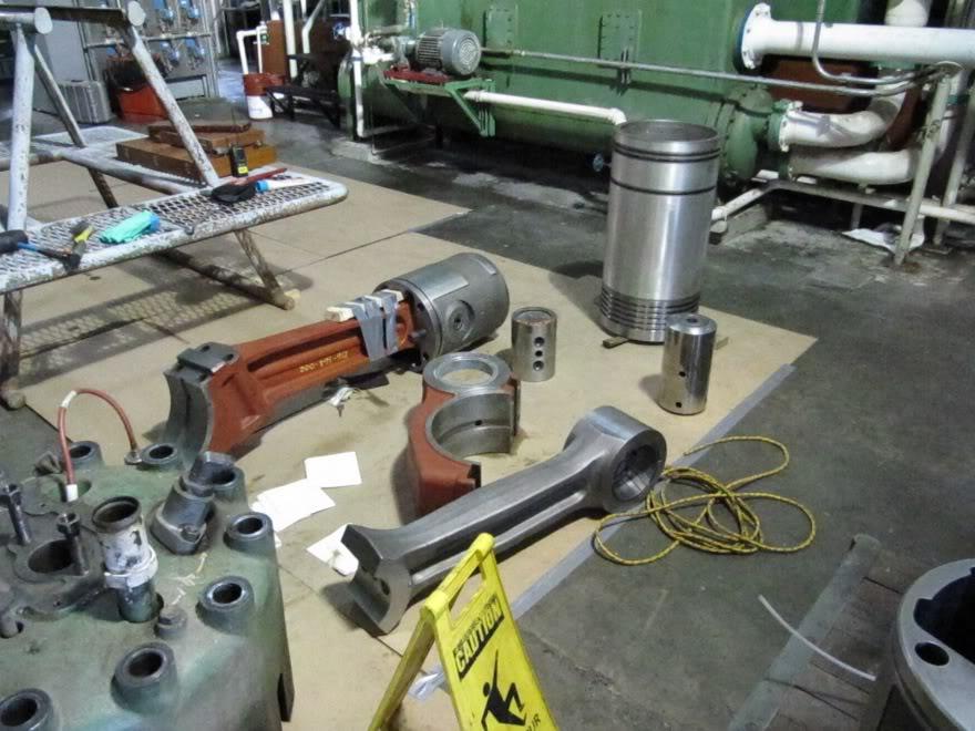 Clark 4500HP 12 Cyliner Engine IMG_0467