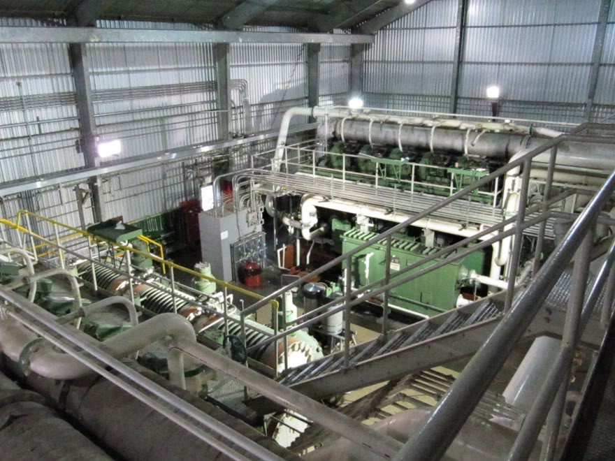 Clark 4500HP 12 Cyliner Engine IMG_0504