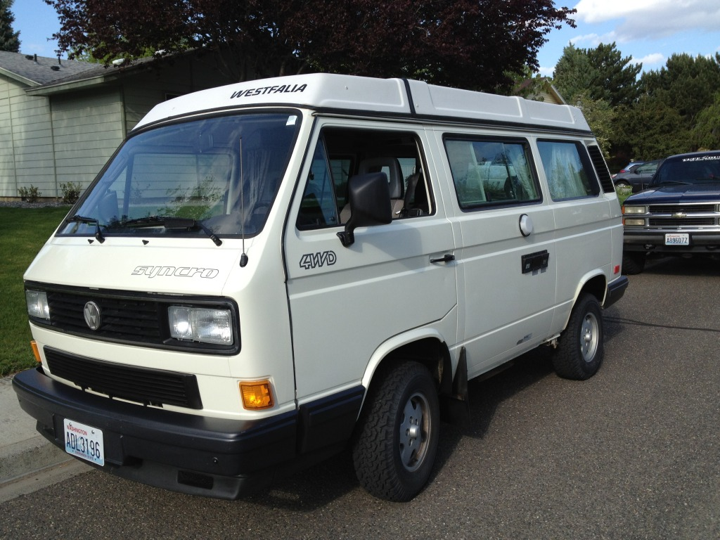 VW Syncro Westfalia - Build Log with Pics 001